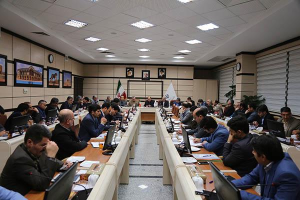 حضور مهندس بیجندی در نشست مشترک مسئولان اجرایی و نمایندگان استان