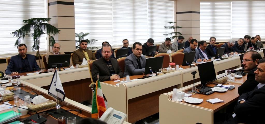 حضور مهندس بیجندی مدیرکل هواشناسی خراسان شمالی در جلسه شورای هماهنگی مدیریت بحران استان