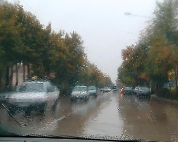 بارش اولین باران پاییزی در خراسان شمالی